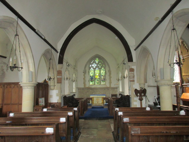 Church of St. Peter and St. Mary, Fishbourne - interior looking east