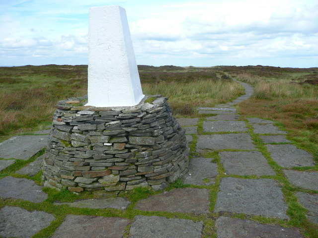 Triangulation pillar on Soldier's Lump, Black Hill