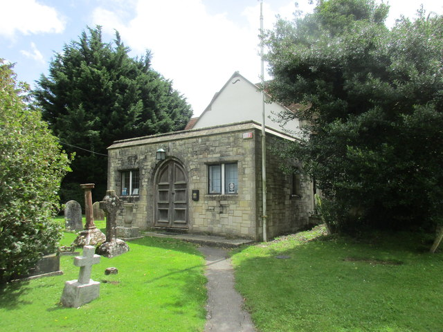 Church of St. Peter and St. Mary, Fishbourne - addition of 1973
