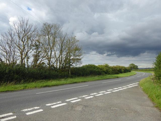 Hopyard Lane from a former road