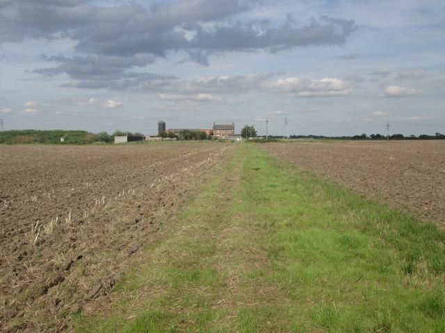 Bridleway towards Broad Oaks Farm