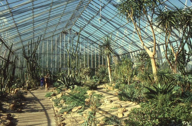 Cacti House, Royal Botanic Gardens, Edinburgh