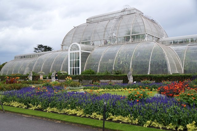 The palm house at the Royal Botanic Gardens, Kew