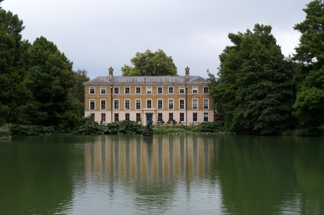 The museum in the Royal Botanic Gardens, Kew