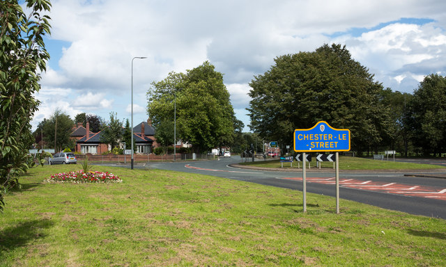 Grassed area adjacent to A167