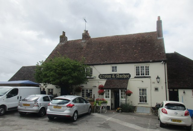 The Crown and Anchor, Dell Quay