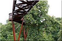 TQ1876 : The Treetop Walkway, the Royal Botanic Gardens, Kew by Mike Pennington