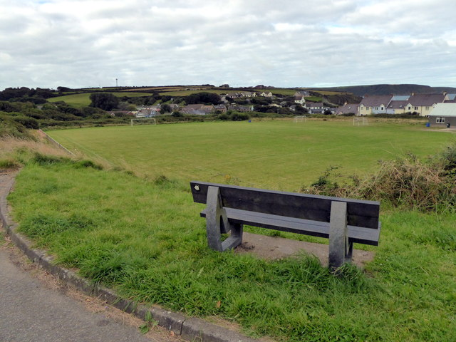Football Pitch, Broad Haven