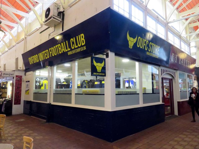 The Oxford United Store in the Covered Market