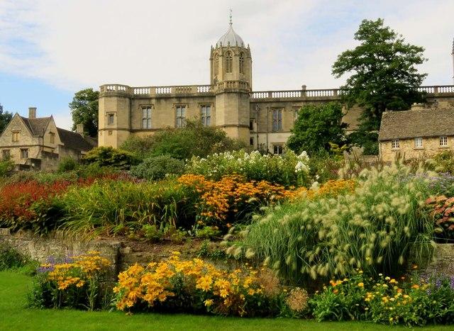 The Memorial Garden in Christ Church