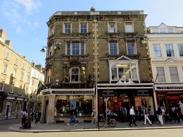 Shepherd & Woodward in Oxford
