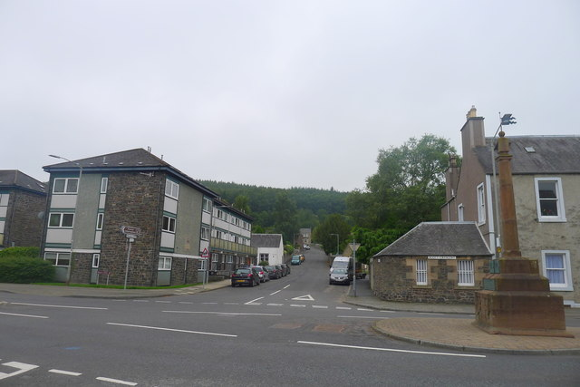 About to leave Galashiels via Elm Row