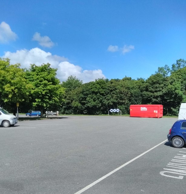 Car Park at Leigh Delamere Services