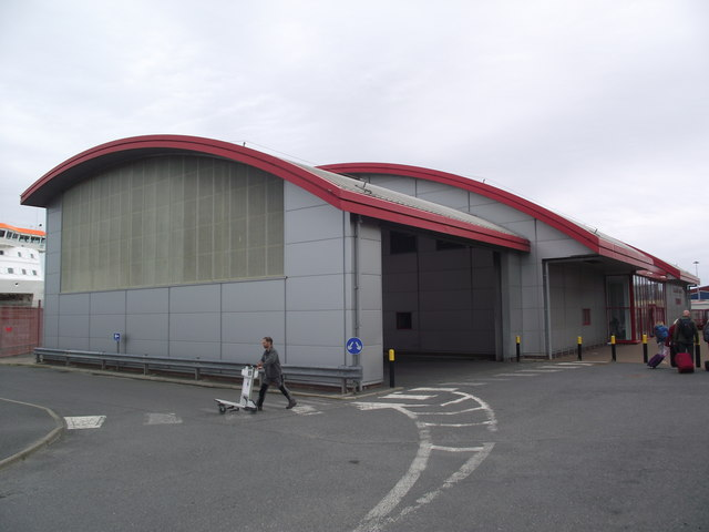 Holmsgarth Ferry Terminal building