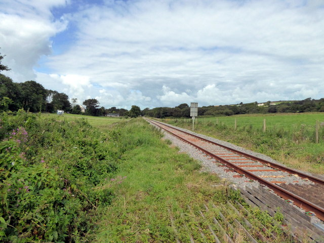 Whitland to Pembroke Dock Railway Line