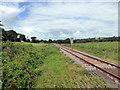 SS0599 : Whitland to Pembroke Dock Railway Line by PAUL FARMER