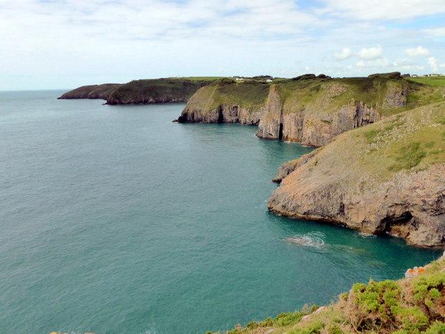 Pembrokeshire Coast  near Lydstep
