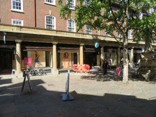 Trading in Sussex Street