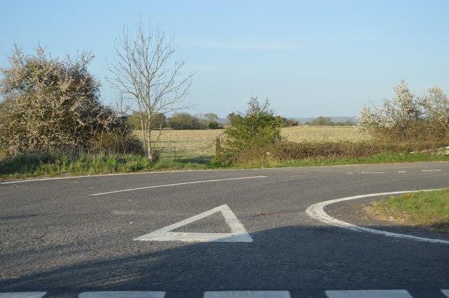 Road off A2070
