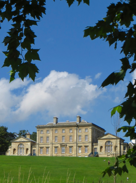 Cusworth Hall from the south-east