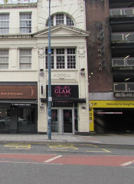 Glam nightclub, Cardiff