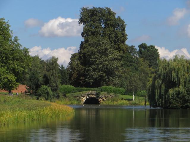 Lake at Cusworth Park, near Doncaster