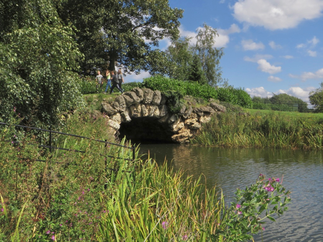 Rock arch, Cusworth Park, near Doncaster