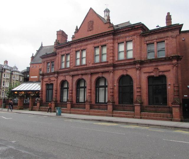 Redbrick building, Greyfriars Road, Cardiff
