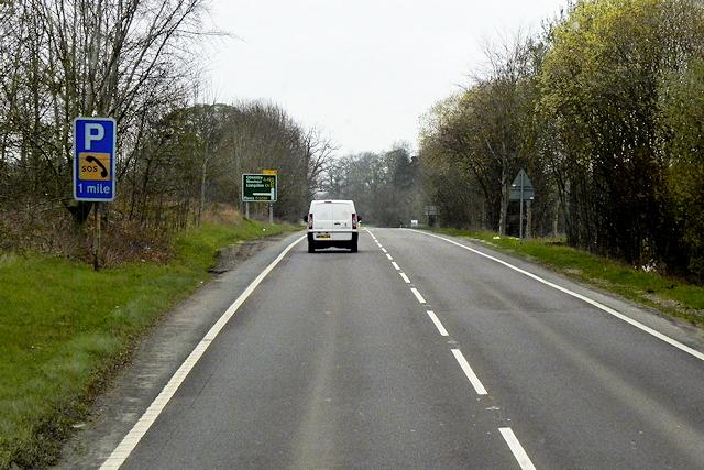Northbound A483