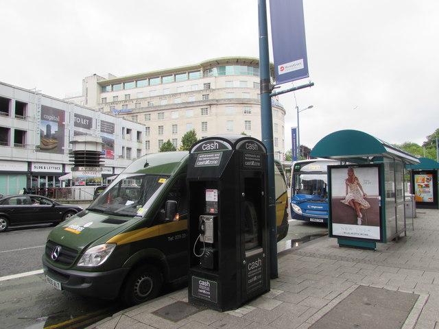 Cash Zone, Greyfriars Road, Cardiff