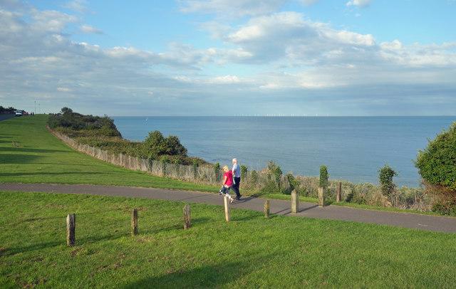 Evening Stroll on the Coast Path
