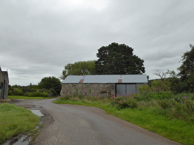 Farm building at Shougle