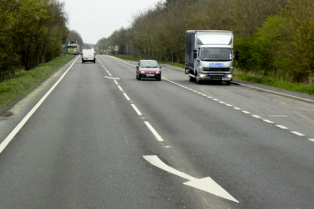 Layby on the Southbound A483