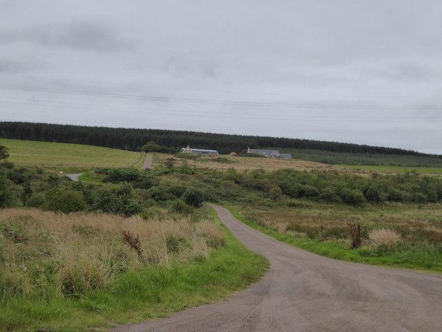 Track to Gedloch Farm