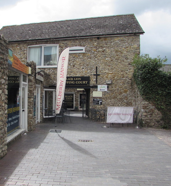 Black Lion Shopping Court, Honiton