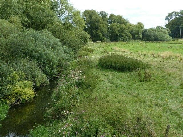 River Sow from Fairway bridge, looking east