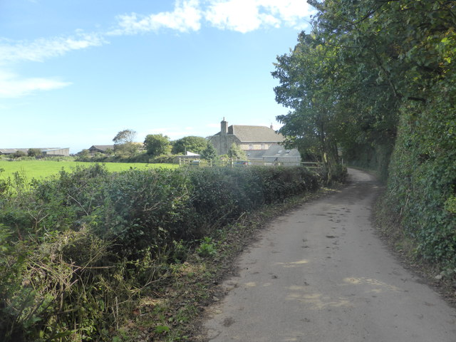 The lane at Boskenna