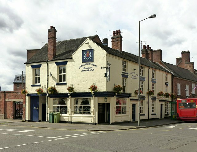 Shrewsbury Arms, Eastgate, Stafford