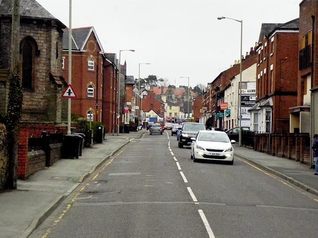 Oswestry, Salop Road
