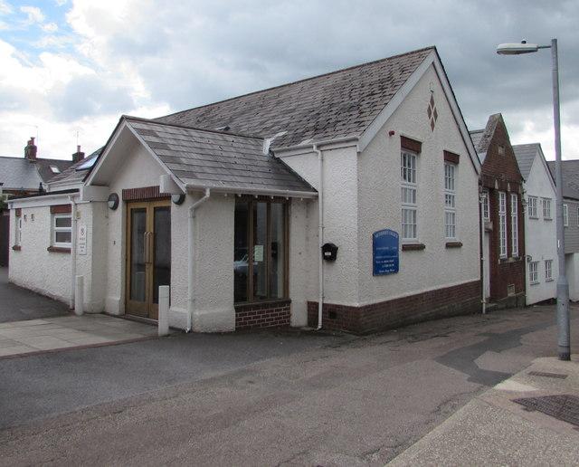 Honiton Methodist Church, Chapel Street, Honiton