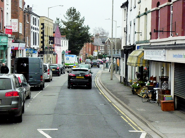 Oswestry Town Centre, Beatrice Street