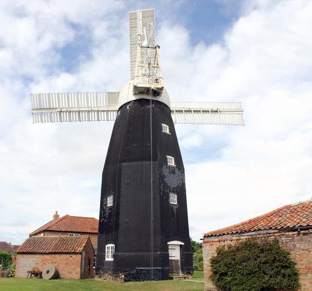 Downfield Windmill, Windmill Close, Downfields, Soham