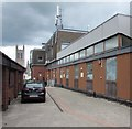 ST1600 : Honiton Telephone Exchange by Jaggery