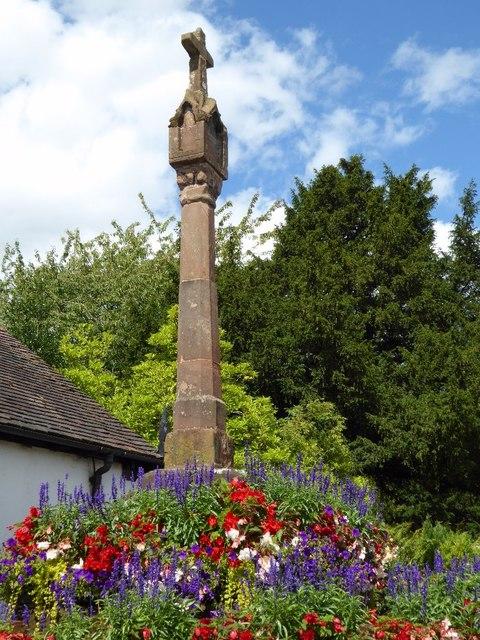 Cross in Claverley
