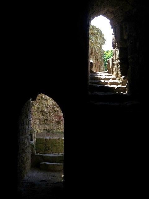 Norham Castle (detail)