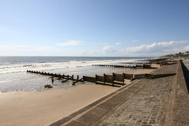Groynes on Barmouth Beach