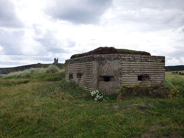 Pillbox and castle