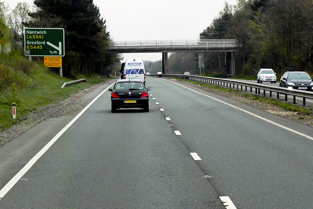 A483 near Wrexham