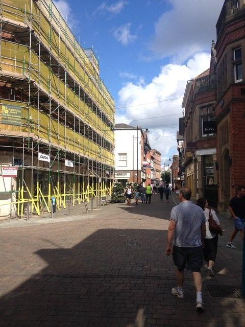 Nottingham building works