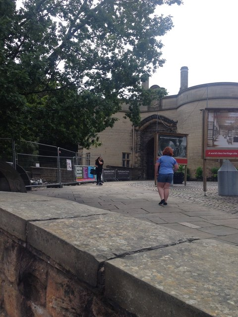 Nottingham Castle entrance